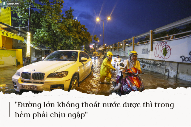 Sống ở rốn ngập Nguyễn Hữu Cảnh: Giữa TP.HCM mà tôi nghĩ mình như ở vùng lũ miền Trung vậy - Ảnh 6.