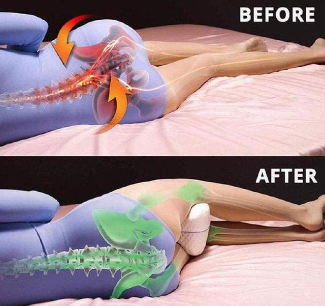 Khi ngủ, kẹp gối ở vị trí này vừa dễ ngủ vừa cực tốt cho sức khoẻ: Tốt nhất cho tuần hoàn máu - Ảnh 4.