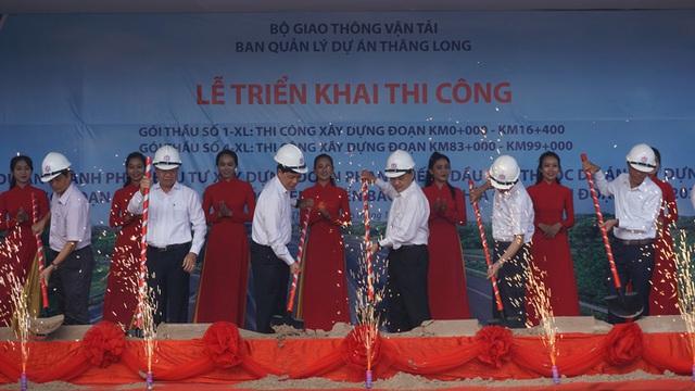 Bắt đầu thi công cao tốc Phan Thiết - Dầu Giây, kỳ vọng giảm các vụ tai nạn thảm khốc  - Ảnh 1.