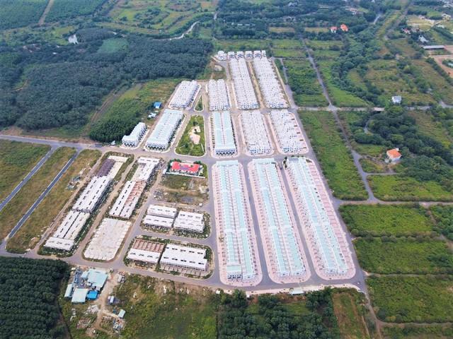 Toàn cảnh 680 biệt thự do LDG xây dựng khi chưa được giao đất tại Đồng Nai - Ảnh 1.