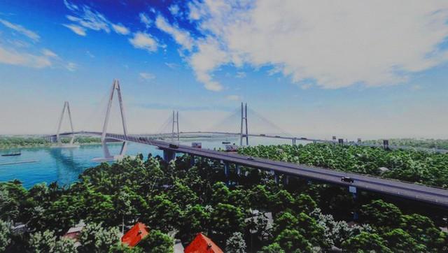 Cầu Mỹ Thuận 2 hơn 1.320 tỷ đồng dự kiến hoàn thành tháng 12/2023 - Ảnh 1.