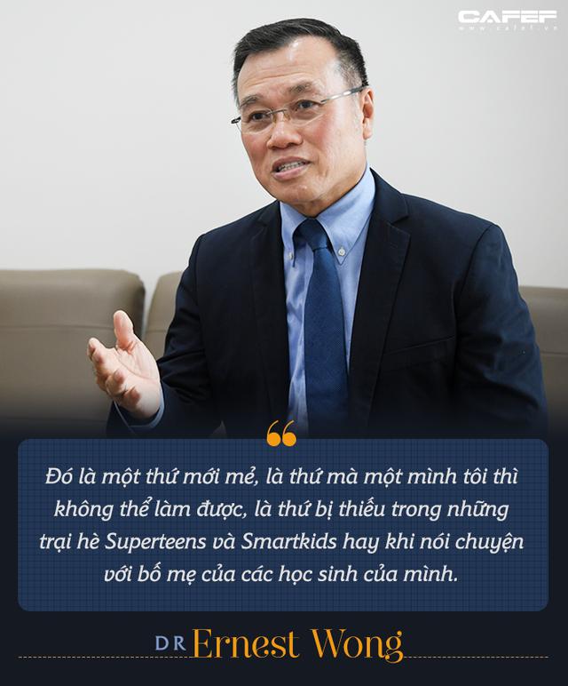Dr Ernest Wong khởi nghiệp tại Việt Nam: Đại dịch Covid-19 làm thay đổi kế hoạch sống đến 105 tuổi của tôi - Ảnh 8.