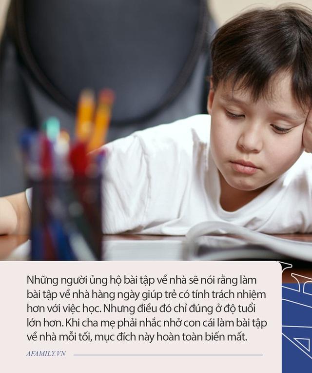 Giáo sư đại học nổi tiếng ở Mỹ chỉ ra 5 lý do làm bài tập về nhà sẽ nguy hại với học sinh tiểu học, ai đọc xong cũng gật gù đồng tình - Ảnh 2.