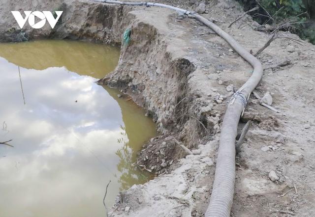 Nhức nhối tình trạng khai thác cát trái phép ở lòng chảo Mường Phăng  - Ảnh 6.