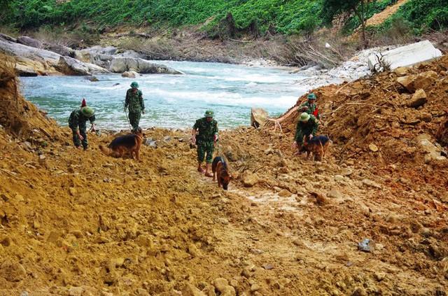 Nhìn gần 'dòng sông mới' Rào Trăng vừa nắn chỉnh để tìm nạn nhân mất tích  - Ảnh 14.