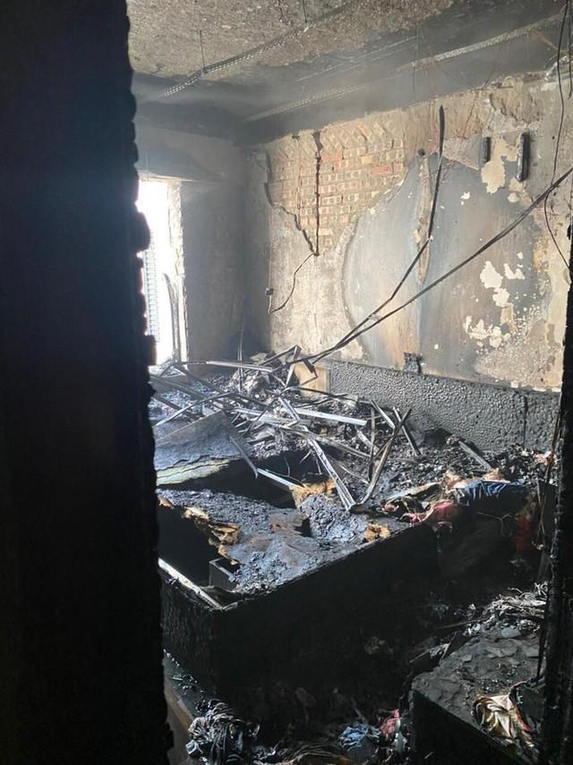 Cháy chung cư TNR Goldmark City - Ảnh 3.