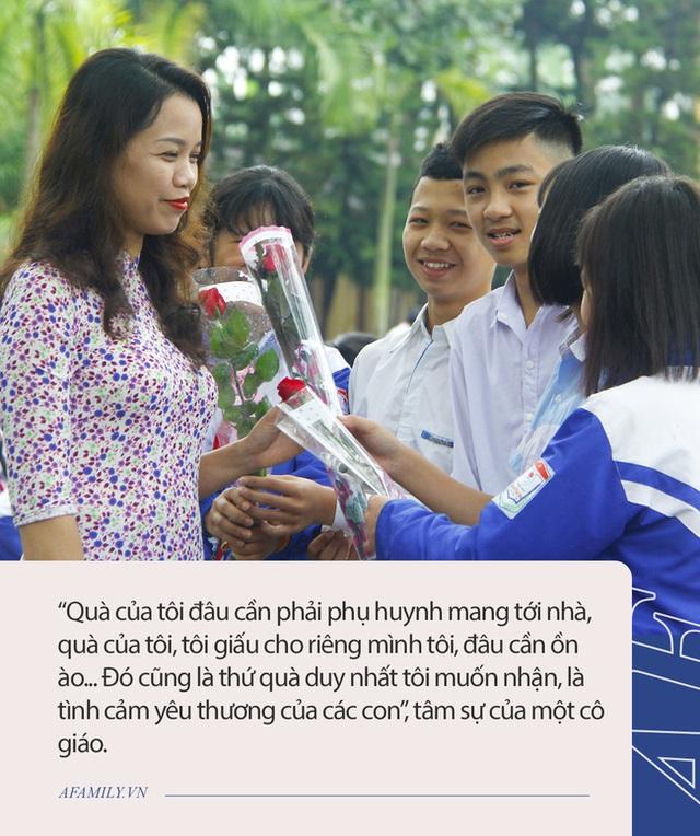 Bức thư gây sốt của cô giáo tri ân ngược phụ huynh ngày 20/11, giải thích lý do đầy thuyết phục vì sao không nhận quà cũng chẳng nhận hoa - Ảnh 3.