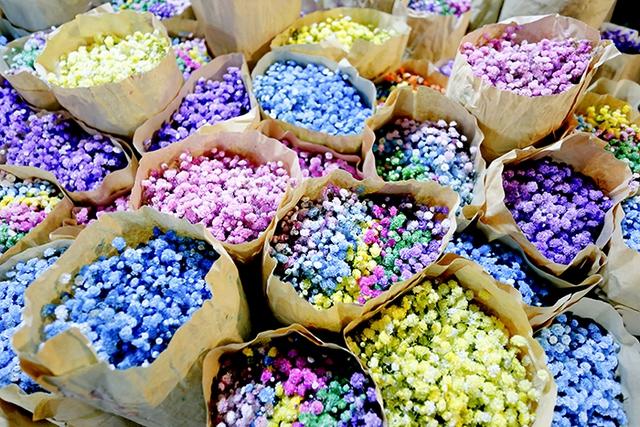 Chợ hoa lớn nhất Hà Nội nhộn nhịp trong dịp Ngày Nhà giáo Việt Nam  - Ảnh 4.