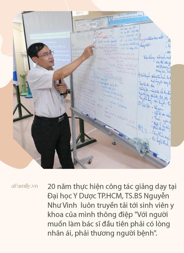 """Ký ức bất lực nhìn bệnh nhân ra đi của vị bác sĩ 20 năm vừa làm thầy giáo vừa chữa bệnh và lời nhắn nhủ sinh viên: """"Y khoa là ngành phải dấn thân"""" - Ảnh 7."""