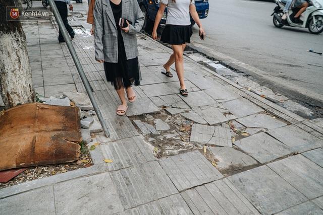 Nhiều tuyến phố Hà Nội lát đá thương hiệu 70 năm đã hư hỏng nghiêm trọng: KTS chỉ ra 4 nguyên nhân chính - Ảnh 5.