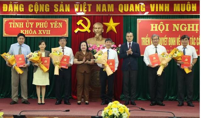 Phú Yên điều động, bổ nhiệm hàng loạt lãnh đạo chủ chốt - Ảnh 2.