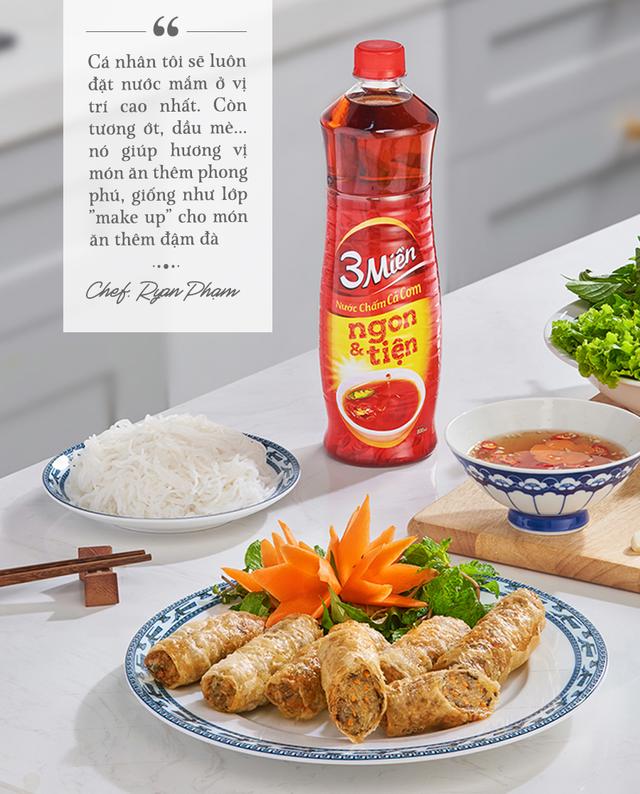 Nước chấm cá cơm 3 Miền – lựa chọn của Chef Ryan Phạm - Ảnh 2.
