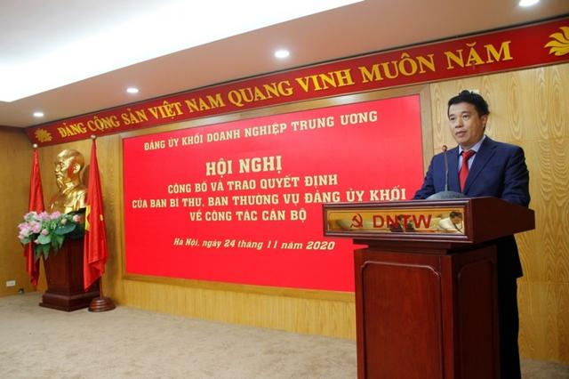 Đảng ủy Khối Doanh nghiệp Trung ương trao quyết định bổ nhiệm cán bộ  - Ảnh 3.