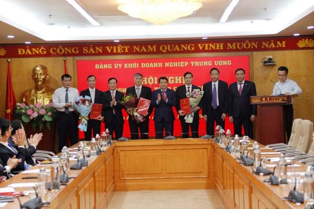 Đảng ủy Khối Doanh nghiệp Trung ương trao quyết định bổ nhiệm cán bộ  - Ảnh 1.