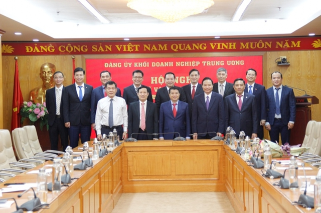 Đảng ủy Khối Doanh nghiệp Trung ương trao quyết định bổ nhiệm cán bộ  - Ảnh 2.