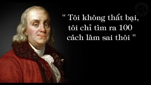 5 danh ngôn để đời của Benjamin Franklin - người đàn ông trên tờ 100 USD: Nghèo không phải điều đáng xấu hổ, nhưng che giấu và chấp nhận nó thì có - Ảnh 1.