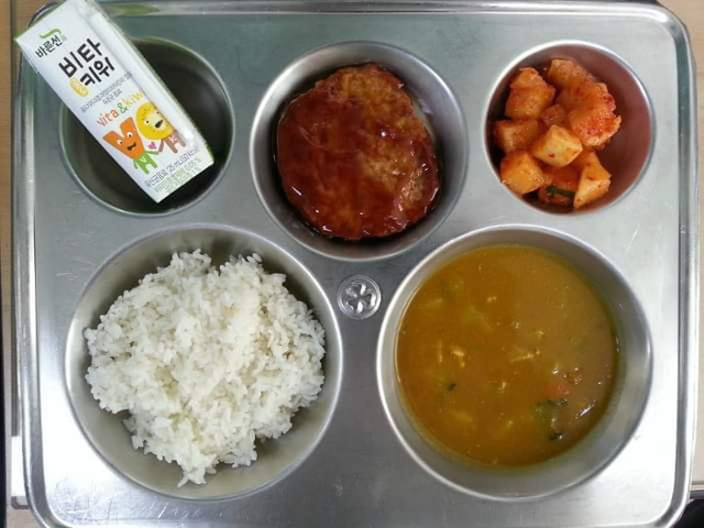 Những suất cơm canteen của học sinh Hàn Quốc: Giá thành rẻ, nhìn đơn giản nhưng chế độ dinh dưỡng hàng top thế giới - Ảnh 4.