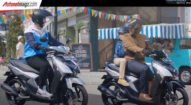 Yamaha Gear 125 hoàn toàn mới trình làng thị trường Indonesia - Ảnh 4.