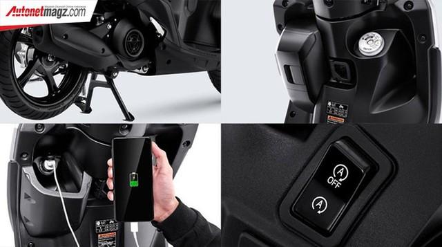 Yamaha Gear 125 hoàn toàn mới trình làng thị trường Indonesia - Ảnh 6.