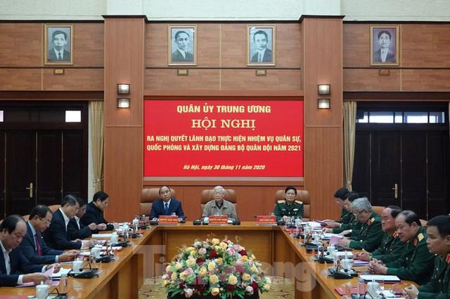 Tổng Bí thư chủ trì hội nghị Quân ủy Trung ương - Ảnh 3.