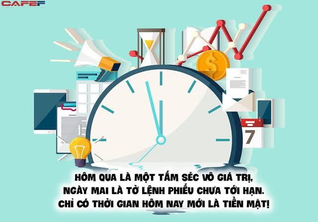 Bức ảnh chụp vội từ Đại học Top 1 châu Á: Nếu bạn không quản lý được thời gian thì sẽ không quản lý được bất cứ việc gì khác - Ảnh 4.