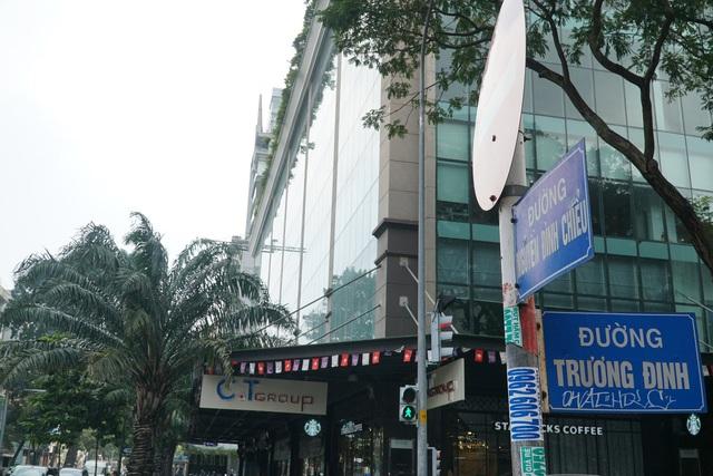 Cận cảnh tòa nhà 2 mặt tiền tại đất vàng TP HCM đang được VietinBank rao bán - Ảnh 2.