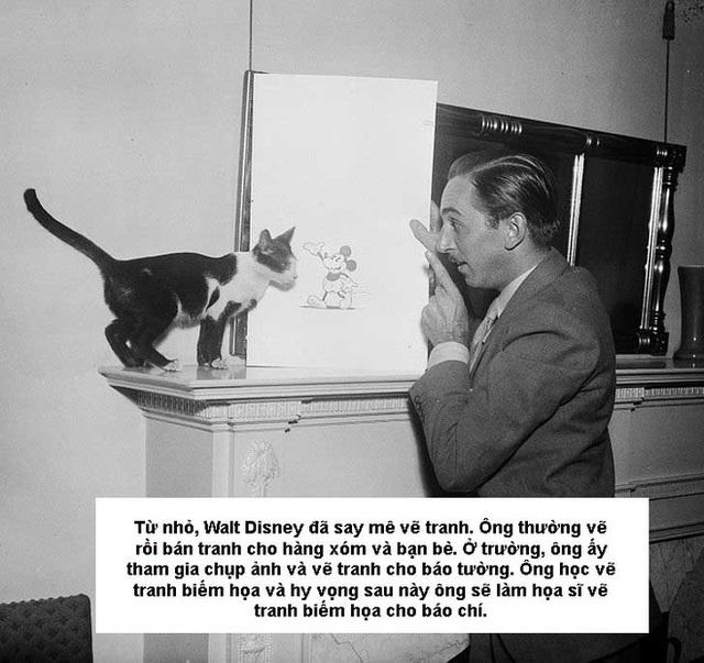 Bí mật của Walt Disney - người từng bị sa thải vì thiếu sáng tạo, trỗi dậy để xây dựng 1 đế chế khó quên - Ảnh 2.