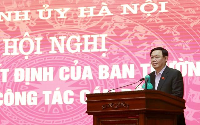 Công bố quyết định của Ban Thường vụ Thành ủy Hà Nội về công tác cán bộ - Ảnh 1.