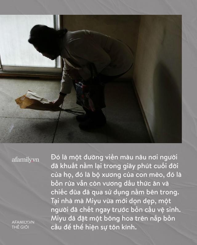 Cô gái làm nghề dọn dẹp nhà cửa hậu những cái chết cô độc ở Nhật: Trên cả công việc làm công ăn lương là vô vàn nỗi niềm dành cho người đã khuất - Ảnh 9.