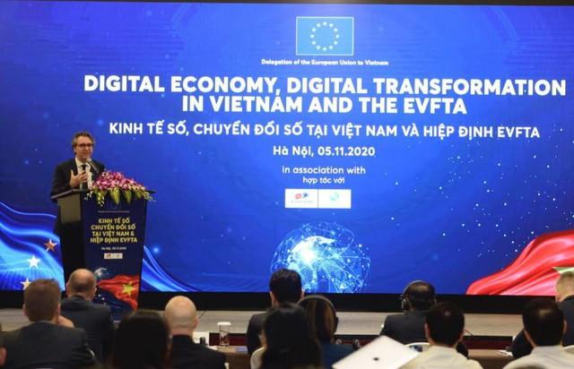 Hiệp định EVFTA - Cơ hội đẩy nhanh chuyển đổi số cho Việt Nam - Ảnh 1.