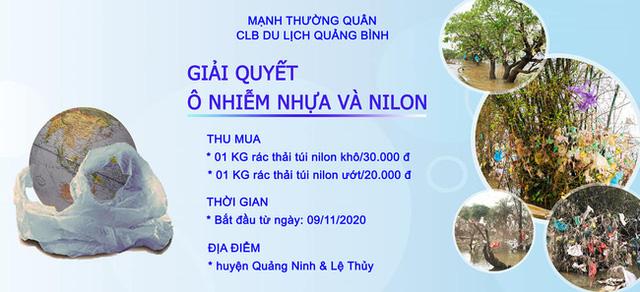 Trả tiền cho những chiếc túi nilon mắc lại cành cây sau lũ: Cách làm từ thiện đầy nhân văn ở Quảng Bình nhận nhiều lời khen từ cộng đồng mạng - Ảnh 1.