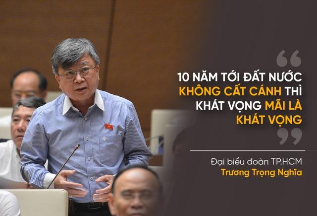 Những phát ngôn ấn tượng khi Quốc hội bàn về kinh tế - xã hội - Ảnh 10.