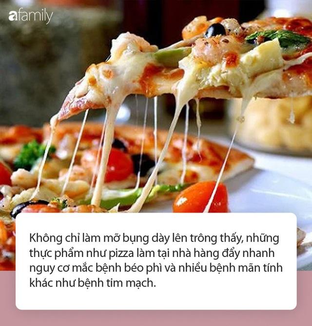 Mỡ bụng sẽ dày lên trông thấy theo từng ngày nếu bạn thường ăn những thực phẩm này! - Ảnh 2.