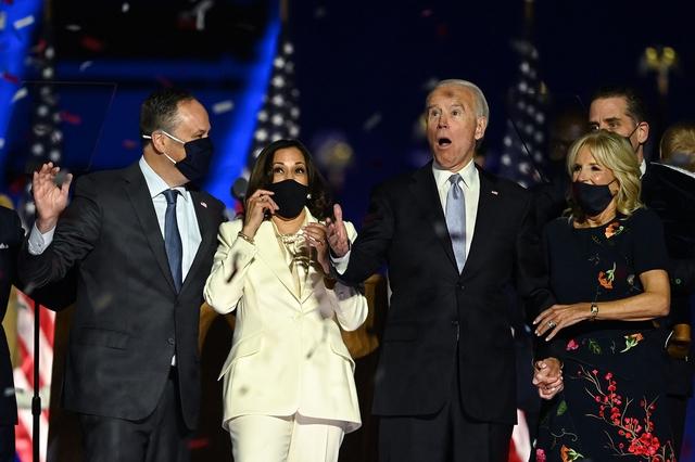 [Cập nhật] Tổng thống đắc cử Joe Biden cảm ơn vợ: Tôi sẽ không ở đây nếu thiếu tình yêu của bà ấy - Ảnh 1.