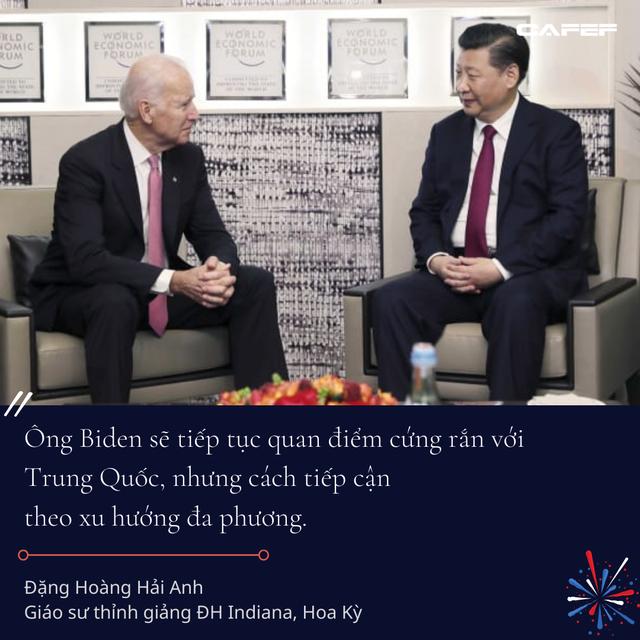 Kinh tế gia người Việt tại Mỹ: Các chính sách của ông Biden có thể sẽ còn thuận lợi cho Việt Nam hơn thời ông Donald Trump - Ảnh 6.