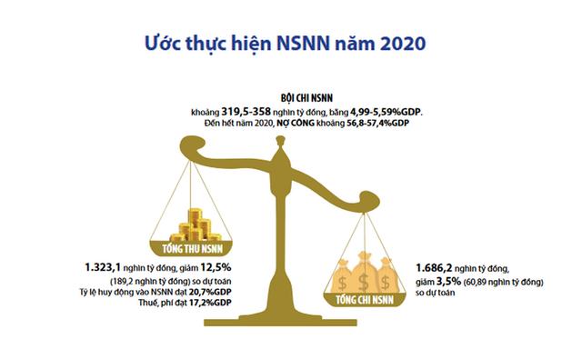 Hai thái cực của bức tranh ngân sách năm 2020 - Ảnh 1.