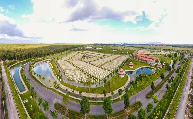 Cận cảnh hoa viên nghĩa trang hơn 2.000 tỷ đồng, có cảnh quan đẹp bậc nhất Việt Nam - Ảnh 16.