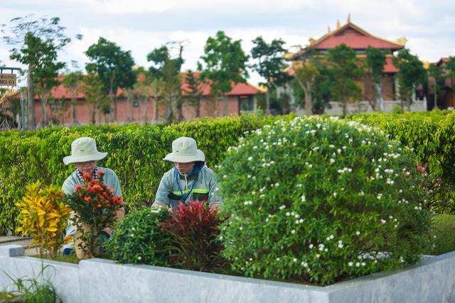 Cận cảnh hoa viên nghĩa trang hơn 2.000 tỷ đồng, có cảnh quan đẹp bậc nhất Việt Nam - Ảnh 22.