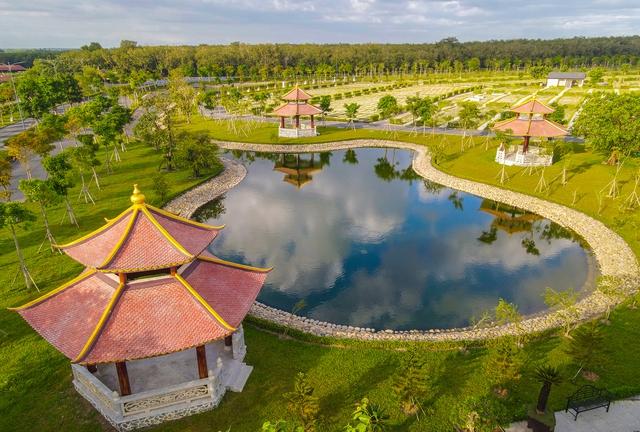 Cận cảnh hoa viên nghĩa trang hơn 2.000 tỷ đồng, có cảnh quan đẹp bậc nhất Việt Nam - Ảnh 25.