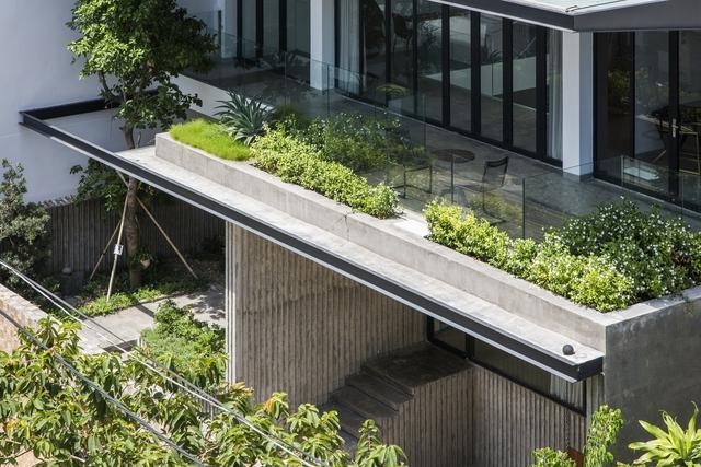 Đất rộng để làm gì: Xây một biệt thự thật to rồi trồng thật nhiều cây xanh bất chấp nắng hướng Tây - Ảnh 2.
