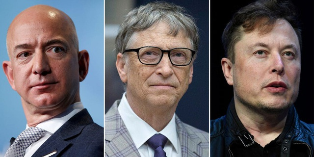 3 người giàu nhất thế giới Jeff Bezos, Elon Musk và Bill Gates đóng thuế thu nhập bằng…0 - Ảnh 2.