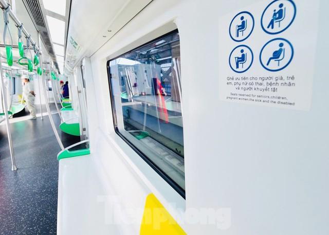 9 đoàn tàu đường sắt Cát Linh - Hà Đông đồng loạt chạy thử - Ảnh 6.