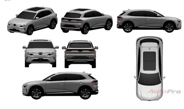Lộ thiết kế chi tiết xe VinFast mới vừa chạy thử tại Việt Nam: SUV to ngang Honda CR-V, 2 tùy chọn động cơ xăng và điện - Ảnh 2.
