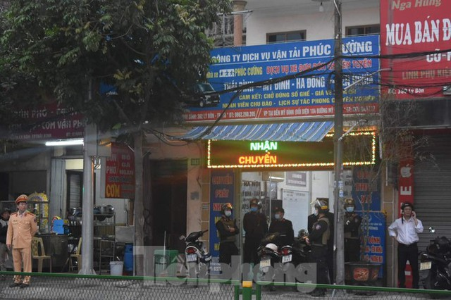 Hàng trăm cảnh sát bao vây, bắt giữ trùm xã hội đen tại Thái Bình - Ảnh 3.