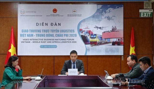 Gỡ rào cản hợp tác logistics Việt Nam với khu vực Trung Đông - châu Phi - Ảnh 1.