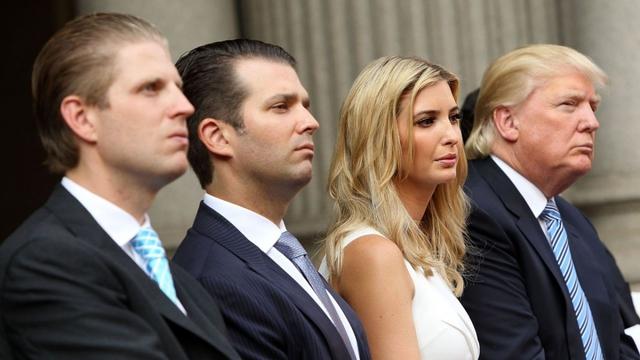 Tổng thống Trump tìm cách ân xá đặc biệt cho 3 người con - Ảnh 1.