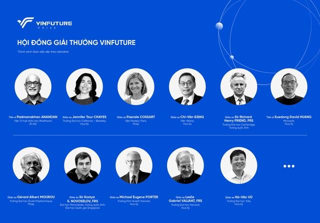 Lãnh đạo Vingroup khởi xướng và cam kết hỗ trợ ban đầu 2.000 tỷ đồng cho quỹ VinFuture về khoa học và công nghệ - Ảnh 1.