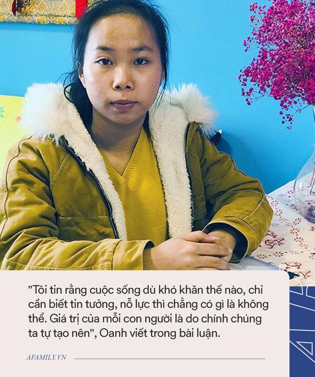 Nữ sinh Nghệ An trúng học bổng 1 tỷ đồng: Sáng đi nhặt ve chai nuôi gia đình, đêm học bài đến 4h sáng nhưng kế hoạch tương lai mới bất ngờ - Ảnh 1.