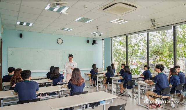 Ở Hà Nội có một trường nội trú đẹp như resort, dịch vụ tiện ích tới tận chân tơ kẽ tóc nhưng kỷ luật cũng không phải tầm thường - Ảnh 11.