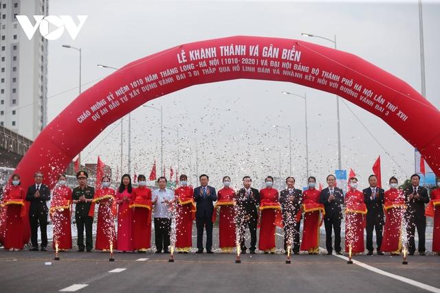 Dấu ấn những công trình tạo diện mạo mới cho Thủ đô Hà Nội năm 2020 - Ảnh 1.